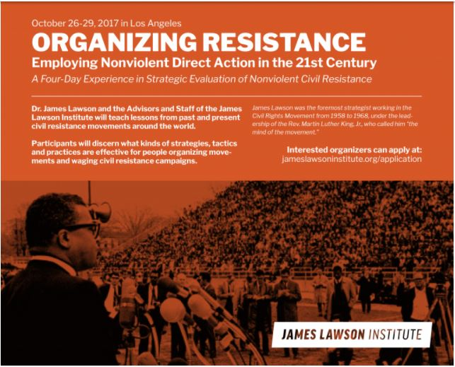 Organizing Resistance Conference at the James Lawson Institute